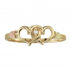 Genuine Diamond Heart Ring by Coleman