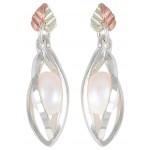 Genuine Pearl Earrings - by Coleman