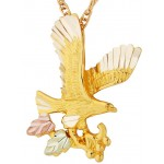 Eagle Pendant  - Gold by Mt Rushmore