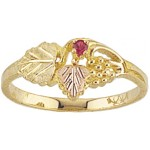 Mothers Ring with 1 to 4 Genuine Birthstones - by Mt Rushmore
