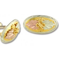 Cuff Links - Gold by Landstroms