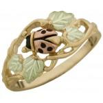 Ladybug Ring - by Stamper