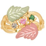 Mothers Ring with 1-8 Genuine Birthstones - by Mt Rushmore