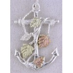 Anchor Pendant  - Gold by Mt Rushmore