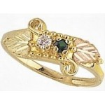 Mothers Ring with 2 to 4 Genuine Birthstones - by Mt Rushmore
