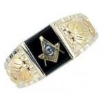 Masonic Ring by Mt Rushmore