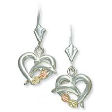 Dolphin Earrings - Gold by Landstroms