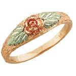 Rose Gold Ladies Rings - by Landstroms