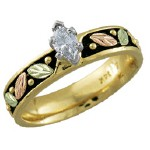 Ladies Wedding Ring - Gold by Landstroms