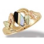Mother of Peal/Oynx - Ladies' Ring - by Landstroms