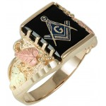 Masonic Men's Ring - by Coleman