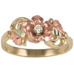 Genuine Diamond Ring - by Coleman