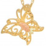 Butterfly Pendant by Coleman