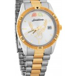 Buck Silhouette Watch and Band - Gold by Lanstrom's