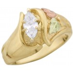 33pt Genuine Diamond Ladies' Ring - by Stamper
