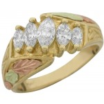 Genuine Diamond Ladies' Ring - by Stamper