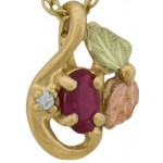 Birthstones with Diamond Accent - by Stamper
