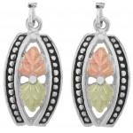 Antiqued Earrings - by Stamper