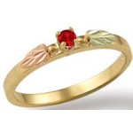 Stackable Birthstone Ring - by Landstrom's