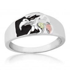 Eagle Men's Ring - by Mt Rushmore