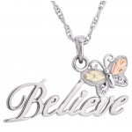 Butterfly Believe Pendant -  Mt Rushmore