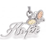 Butterfly Hope Pendant -  Mt Rushmore Gold