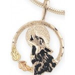 Howling Wolf Pendant - By Mt Rushmore