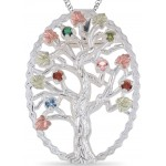 Mother's Pendant/Brooch 1 to 14 Stones - by Coleman