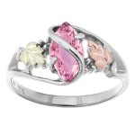 Genuine Pink Sapphire - Ladies' Ring - by Coleman