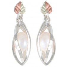 Genuine Pearl Earrings - by Coleman