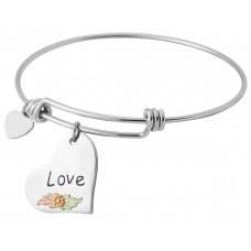 Love Charm Wire Bracelets - by Landstroms