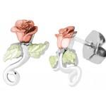 Rose Earrings by Landstroms