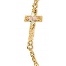 Cross Bracelet - Gold by Landstroms