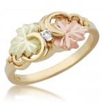 Genuine 3pt Diamond Ladies' Ring - By Mt Rushmore