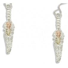 Feather Earrings - Gold by Landstroms