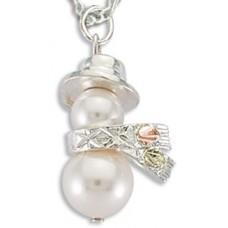 Pearl Santa Pendant by Landstroms