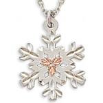 Snowflake Pendant - Gold by Landstroms