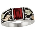All Birthstones Available - Men's Ring - By Mt Rushmore