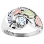 CZ Stone Engagement Ring/Ladies Ring  - by Mt Rushmore