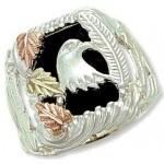 Genuine Onyx Men's Ring - by Landstrom's