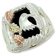 Genuine Onyx Men's Ring - by Landstrom's