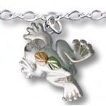 Frog Pendant Ankle Bracelet - by Landstrom's