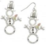 Snowman Earrings - by Landstrom's
