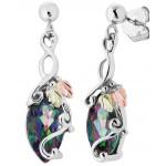 Genuine Mystic Fire Earrings - by Landstrom's