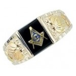 Masonic Ring by Mt Rushmore