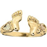 Toe Rings- Gold by Stamper