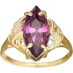 Amethyst Ladies' Ring - by Stamper