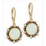 12MM Opal Earring - by Landstroms