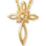 Genuine Diamond Cross - by Landstrom's