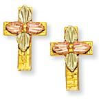 Cross Earrings by Landstroms